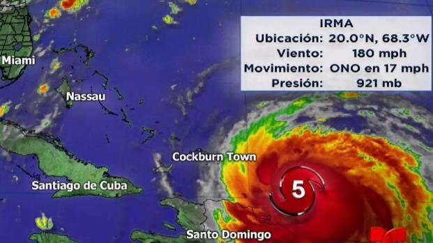 [TLMD - MIA] Aumenta el riesgo para el sur de la Florida por Irma
