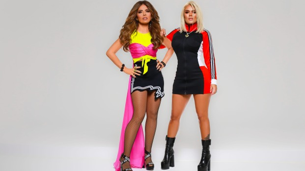 "Gloria Trevi y Karol G son heroínas en video ""Hijoepu*#"""