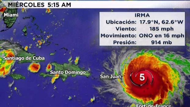 [TLMD - MIA] Las últimas proyecciones de la tormenta Irma