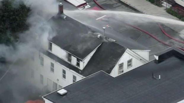 [NECN] Multiple Fires Reported After Gas Main Explosions