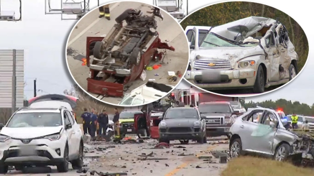 El peor accidente en la autopista más nueva del área de Houston