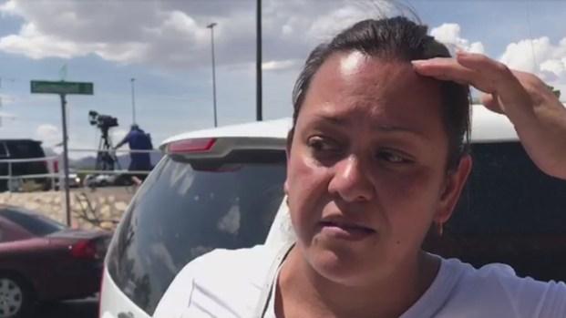 """[TLMD - El Paso]  """"Agarré a mis hijos y los tiré al piso"""": madre recuerda el terror durante masacre de El Paso"""