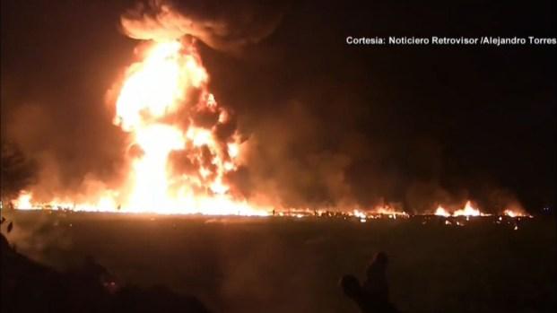 """[TLMD - NATL] """"Ayúdame güey, me muero"""": fuerte video capta momento de la explosión"""