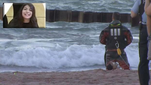 Muere adolescente que nadaba con sus amigos en el Lago Michigan