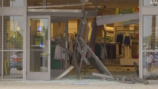 Destrozos en Sears del Woodfield Mall tras extraño incidente