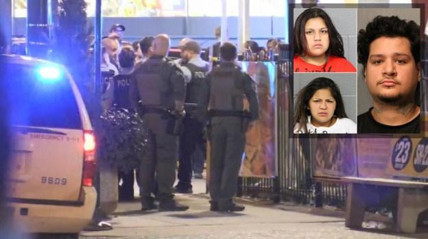 Batalla campal en La Villita: 8 policías heridos y 11 detenidos