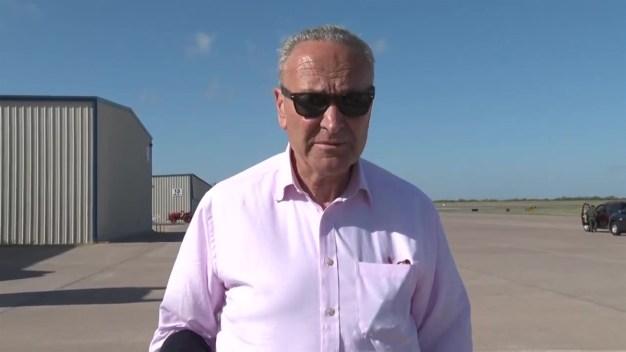 Delegación de senadores demócratas visitan la frontera