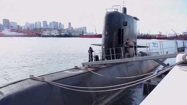 Detectan anomalía hidroacústica en búsqueda de submarino