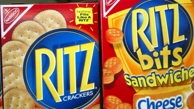 Retiran galletas Ritz que pudieran contener salmonela