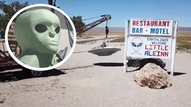 Primeros detenidos por invasión a Área 51