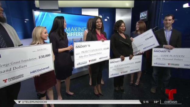 Reciben fondos de fundación de NBC Universal