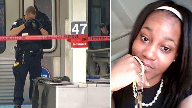 Identifican a joven apuñalada dentro de un tren del CTA