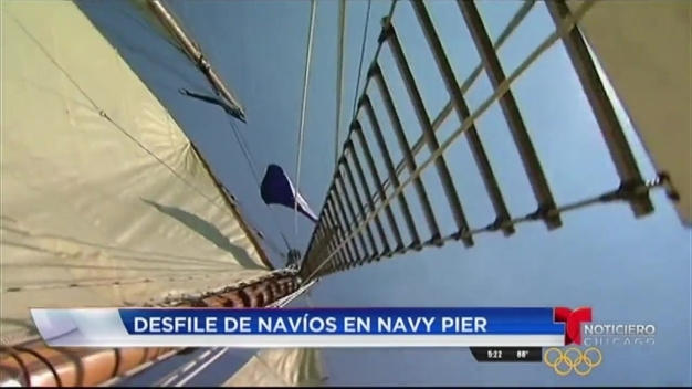 Tall Ships engalana el Navy Pier