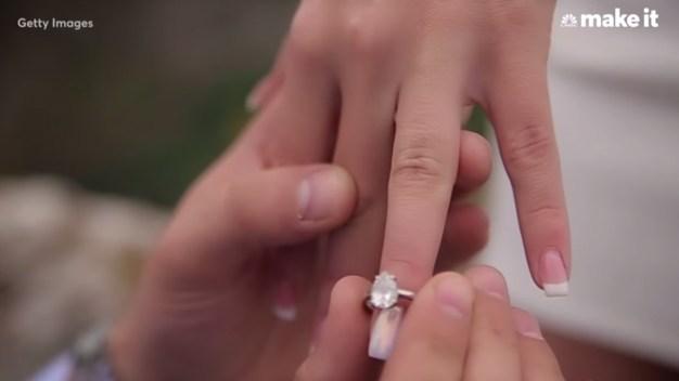 CNBC: porqué no debes gastar una fortuna en un anillo de compromiso