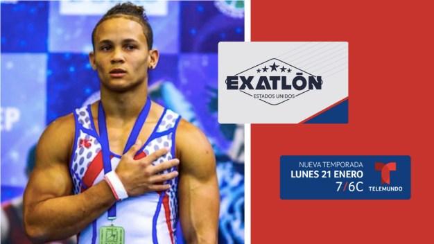 Audrys Nin Reyes, campeón mundial de gimnasia, se une a Exatlón