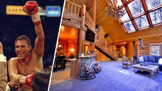 Venden ultralujosa casa de entrenamiento de De La Hoya