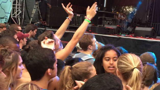 Ven a Malia Obama en Lollapalooza 2016
