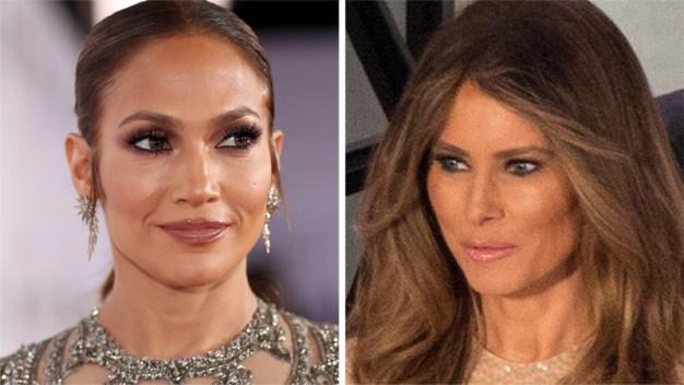 Melania Trump recurre a la misma diseñadora de JLo