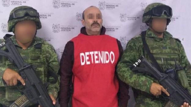 Arrestan a capo del Cartel del Golfo en Matamoros