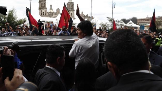 """Evo Morales: """"visitante distinguido"""" en primer día de asilo"""