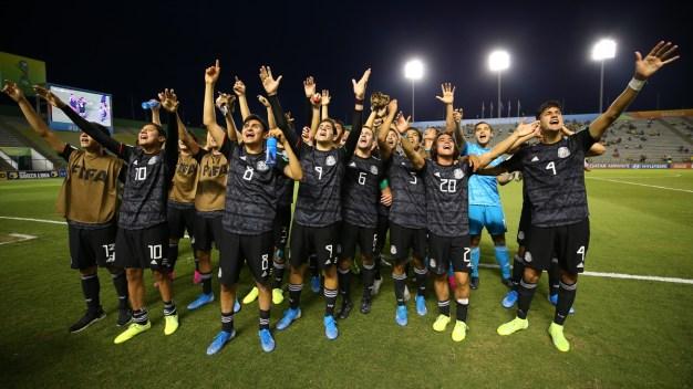 Este domingo, México juega la final del Sub17 ante Brasil
