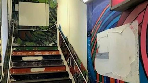 Residentes en Pilsen reclaman por daño en mural de la CTA