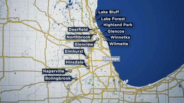 Roban sobre 300 autos en suburbios de Chicago