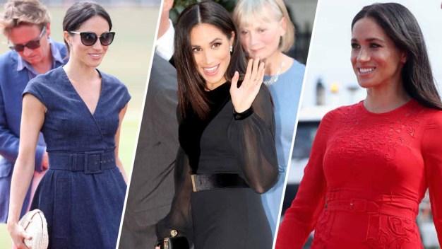 50 looks de Meghan Markle como duquesa
