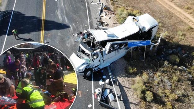 Varios turistas muertos tras choque de autobús en Utah