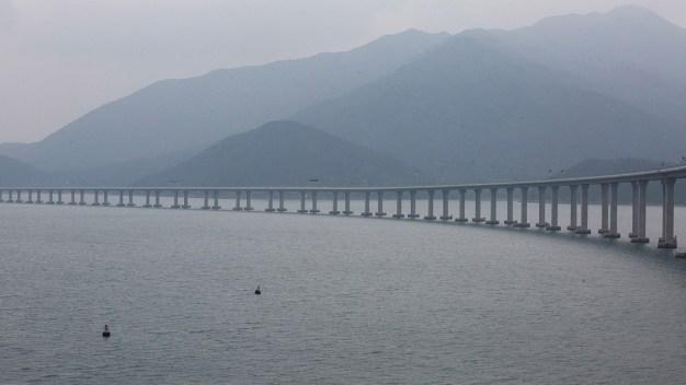 Inauguran el puente más largo del mundo sobre el mar