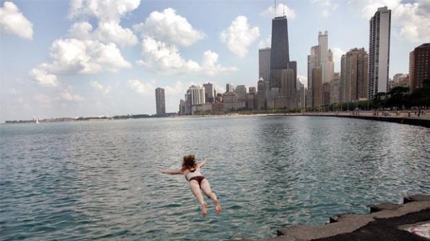 Fin de semana de calor extremo en todo Chicago
