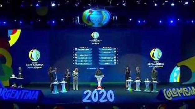 Se sortean los grupos de la Copa América 2020