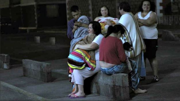 México: sismo causa pánico en medio de la noche
