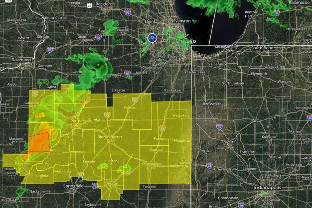 Chicago bajo amenaza de tormentas y tiempo severo