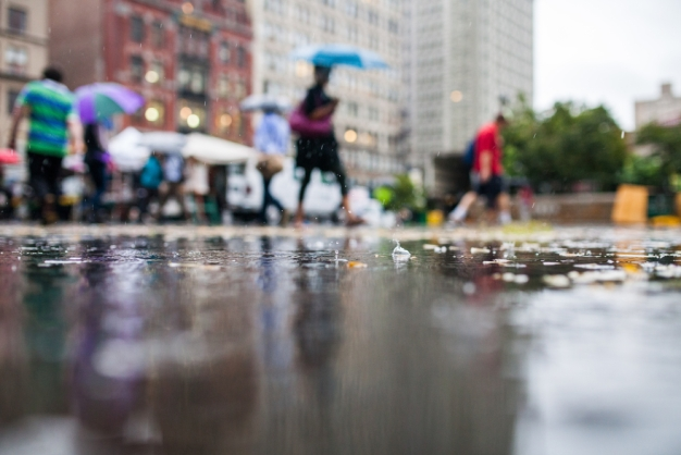 Lluvia y tormentas en lo que resta de semana en Chicago