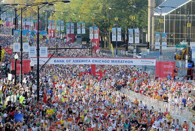 """Maratón """"Bank of America Chicago"""" celebra su 40 aniversario}"""