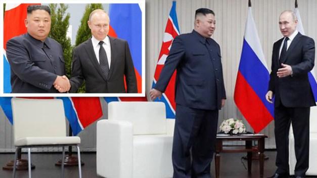 Cumbre entre Putin y Kim se enfoca en cese nuclear
