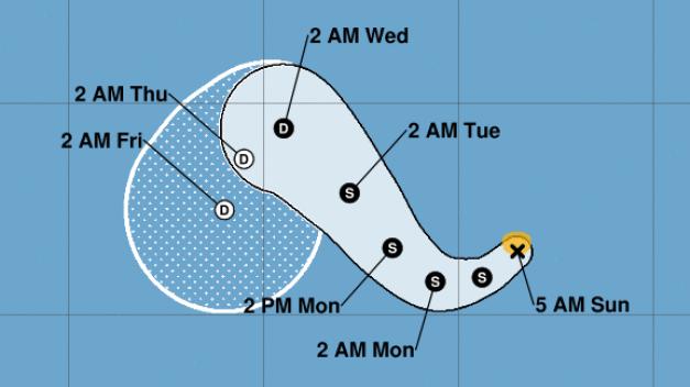 Tormenta tropical Kiko sigue tenaz y pudiera fortalecerse
