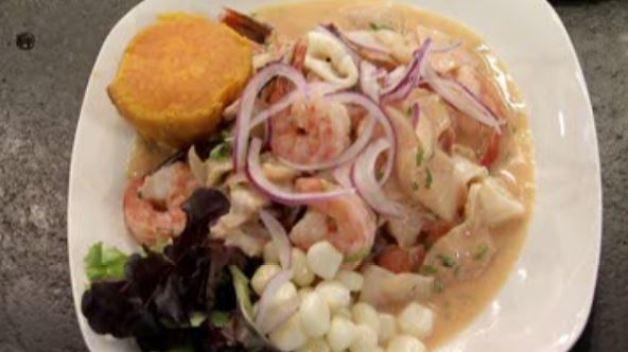 Receta de ceviche mixto peruano