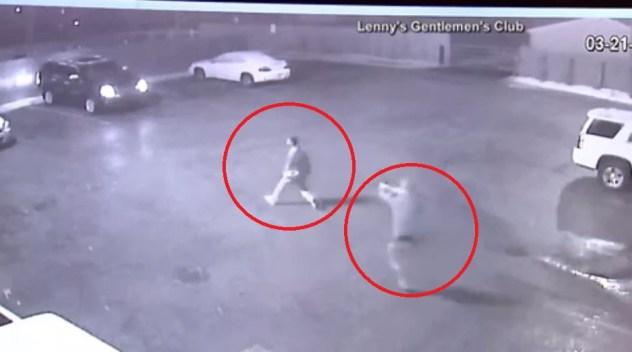 Revelan video de tiroteo mortal tras pelea en bar nudista