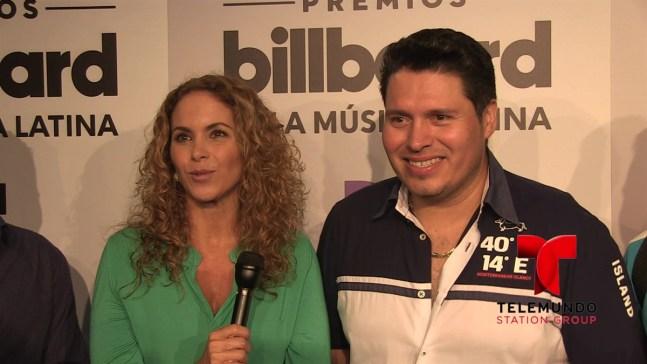 Premios Billboard: Lucero cautivada por la Banda MS