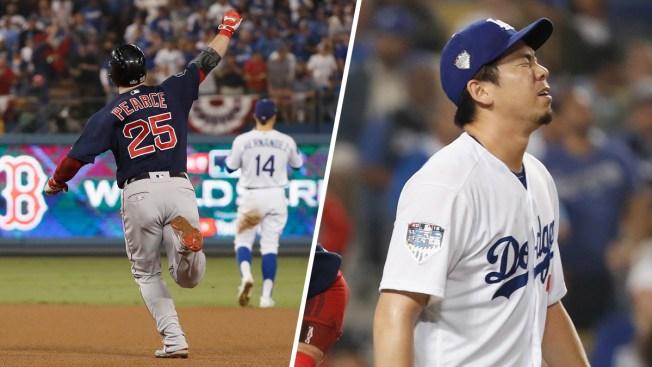 Las Medias Rojas derrotan a los Dodgers en cuarto juego