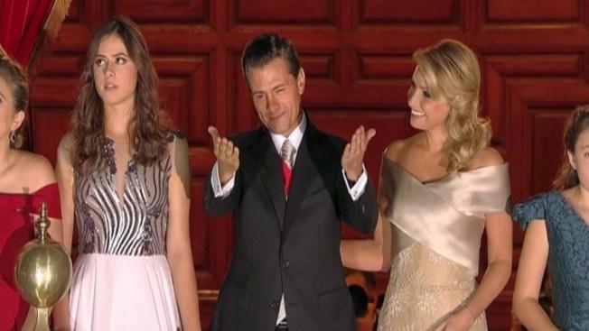 """Enrique Peña Nieto dio """"El Grito"""" en México"""