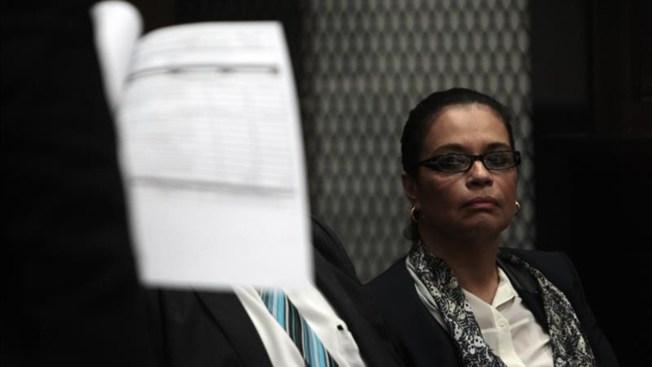 A prisión exvicepresidenta de Guatemala