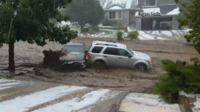 Video: Inundaciones causan múltiples destrozos
