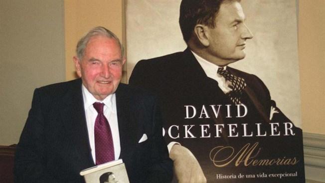 El financiero David Rockefeller muere a los 101 años