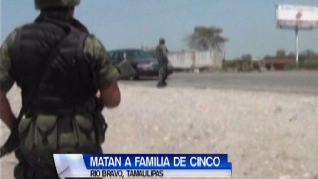 Asesinan a familia en Tamaulipas