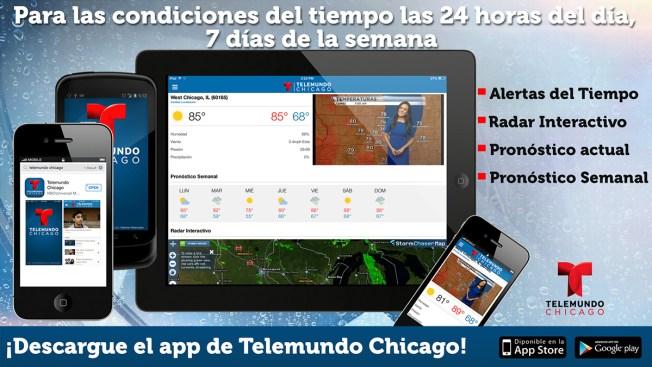 La nueva aplicación de Telemundo Chicago