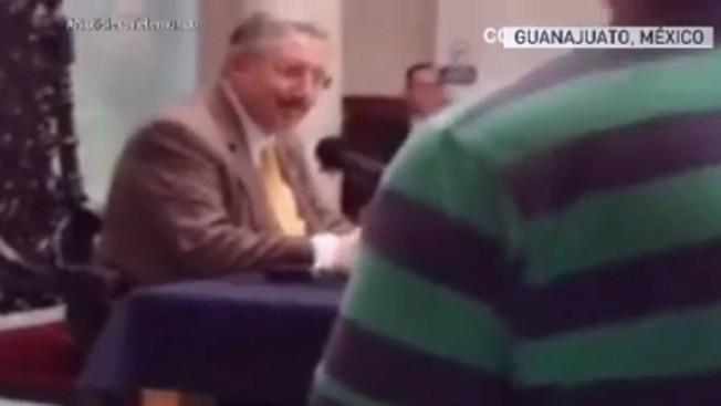 Agreden a juez por voto a favor de homosexuales