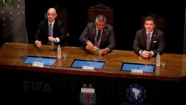 Hay acuerdo para buscar organizar el Mundial 2030